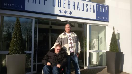 Tryp Centro Oberhausen Hotel: Eingang Tryp Oberhausen