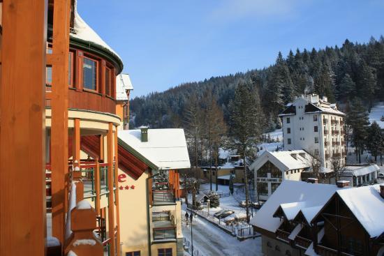 Mercure Krynica Zdroj Resort & Spa: Вид с балкона номера
