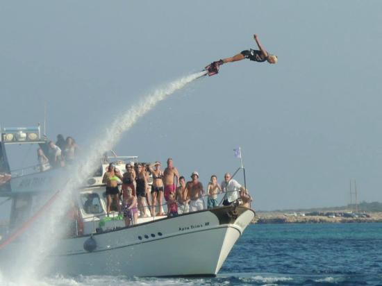 ‪Flyboarding Cyprus‬