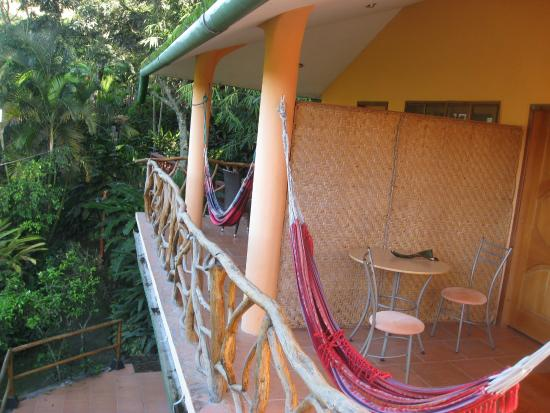 Madre Tierra Resort & Spa : Balconies of rooms 20 and 21