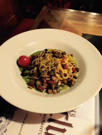 Aubergine Restaurant: Veggie pasta