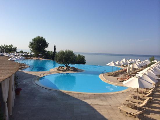 Νέα Μουδανιά, Ελλάδα: Nice pool