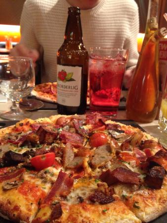 Fire and Stone - Covent Garden: London Pizza - amazing!