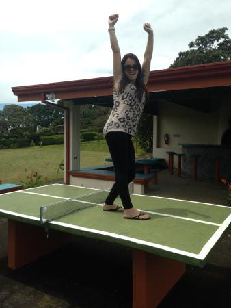 Hotel Desire Costa Rica : Ping pong areas