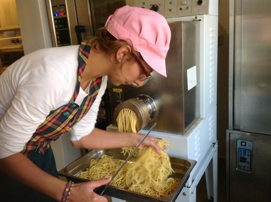 Agriturismo dal Moro : La pasta fresca