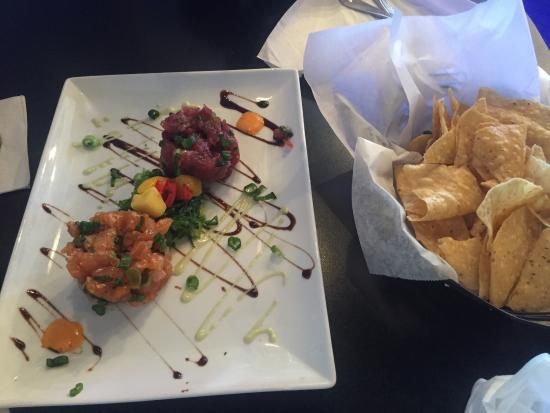 Tartare duo fish tale grill by merrick seafood for Fish tales cape coral