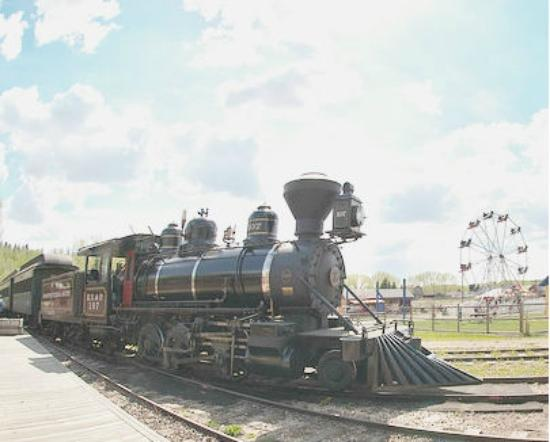 Fort Edmonton Park: 1919 Baldwin Steam Train