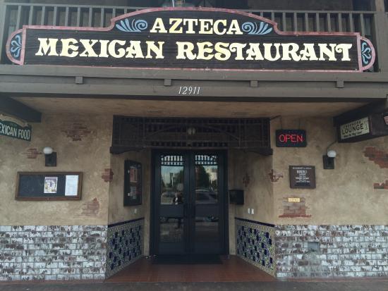 Azteca Restaurant Garden Grove Menu