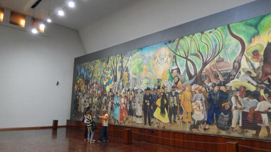 El Tamano Picture Of Museo Mural Diego Rivera Mexico City