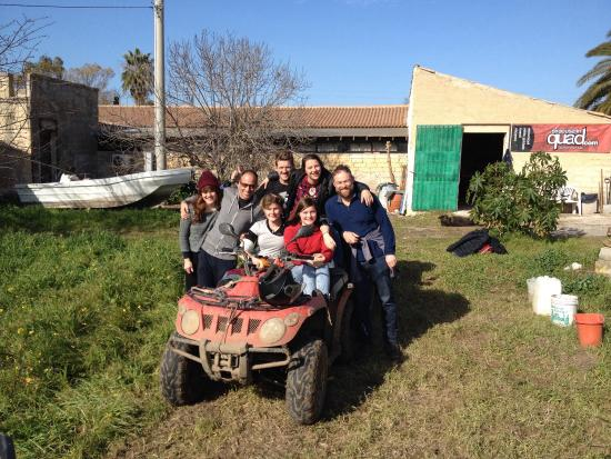 Siracusa in Quad: Great day