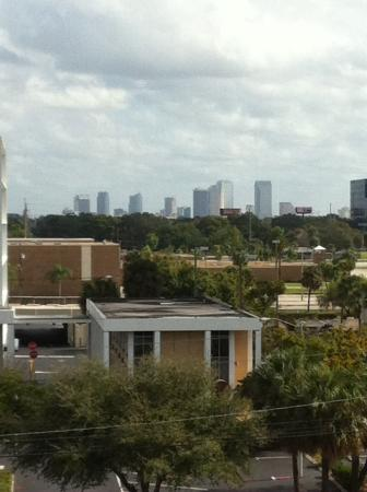 Ramada Westshore Tampa Airport: View of Tampa from our floor