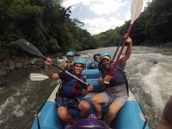 Rafting Rio Negro Tobia enero 2015