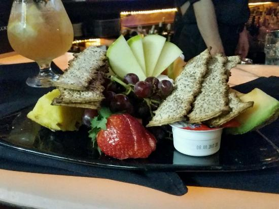 Blue Martini: Cheese plate