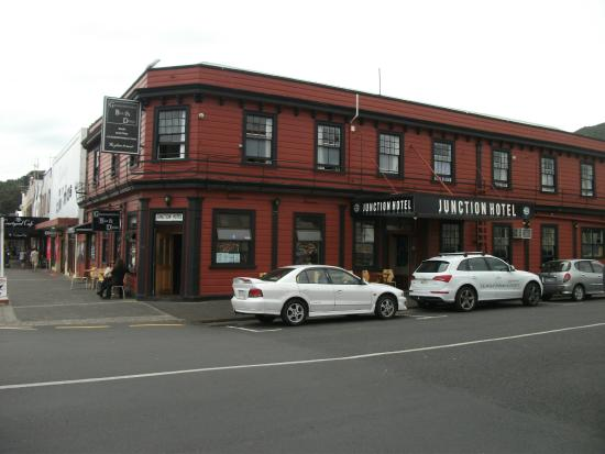The Junction Hotel: View from across street