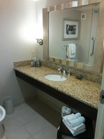 Marriott Hotel Newport News at City Center: bathroom