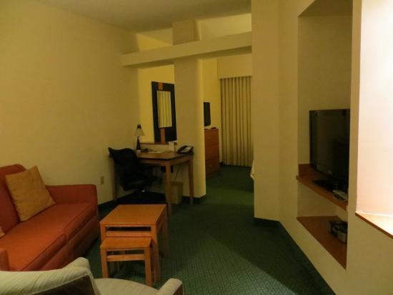 Fairfield Inn & Suites West Palm Beach Jupiter: Sitting Area
