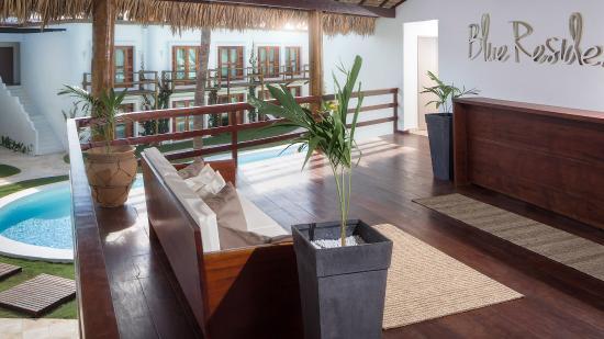 Blue Residence Hotel: Recepção Blue Residence