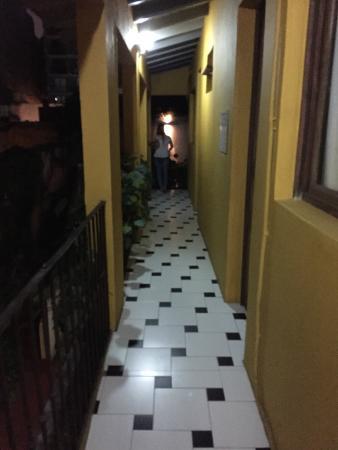 Solar Soler Bed & Breakfast: hallway