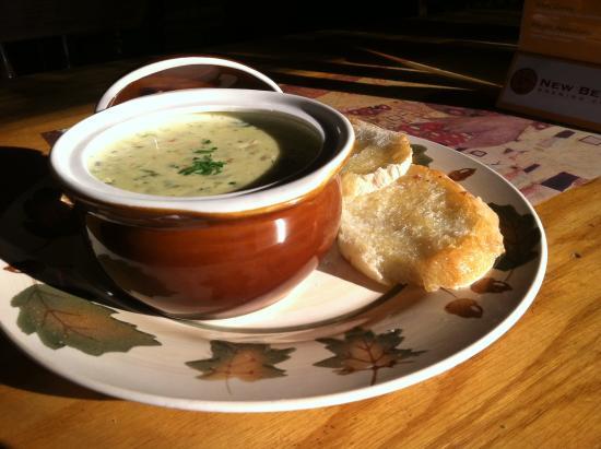 One World Cafe : Homemade soup