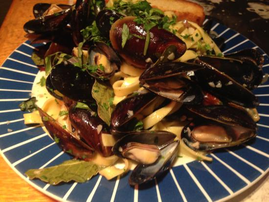 One World Cafe : Mussels every Wednesday!