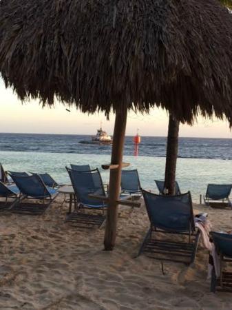 Renaissance Curacao Resort & Casino: praia artificial
