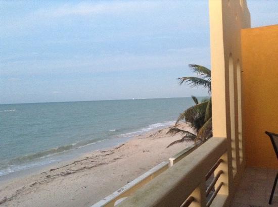 Flamingos Inn: view from terrace