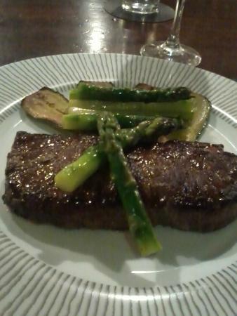 La Pergola : La carne suave, en su punto.