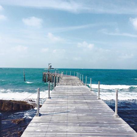Nikoi Island: Peaceful Jetty