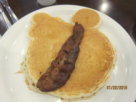 Madison Restaurant: I think this is supposed to be Mickey Mouse