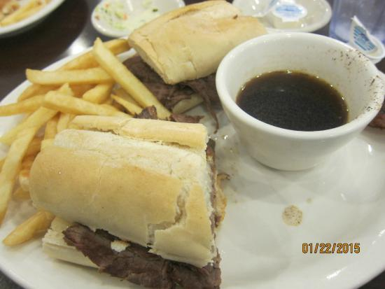 Madison Restaurant: french dip with fries