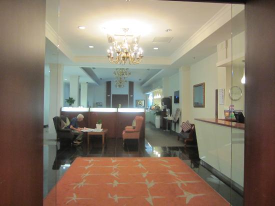 Grand Windsor Hotel Auckland : フロント
