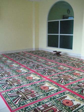 Bunda Hotel, Bukittinggi: Praying room on 3rd floor