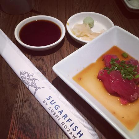 SUGARFISH by sushi nozawa : Delectable sashimi at Sugarfish