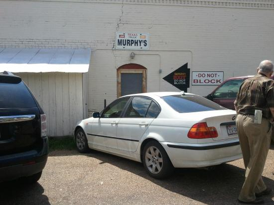 Murphy's Steakhouse: The side/back door but many use this entrance