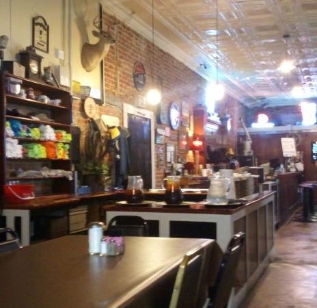Murphy's Steakhouse: The main service area