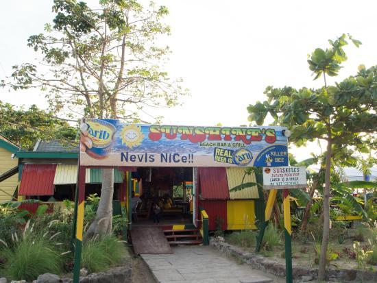 Sunshine's Beach Lounge: Welcome to Sunshines Bar & Grill