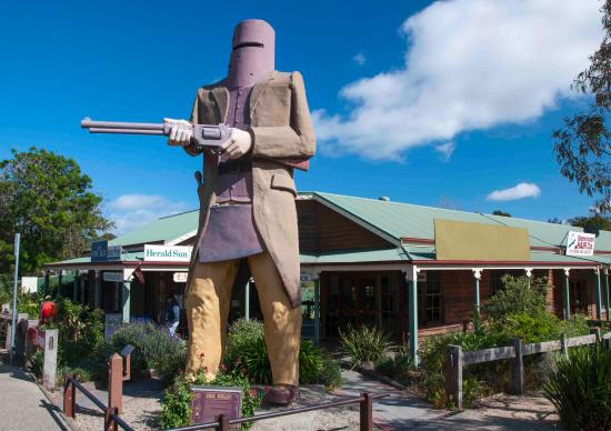 "Glenrowan, Australia: Big ""Ned"" has changed over the years"