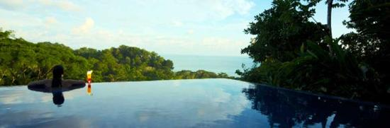 TikiVillas Rainforest Lodge & Spa : Pool TikiVillas