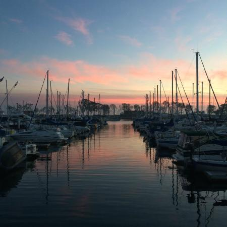 Dana Point, Kaliforniya: Gorgeous sunset