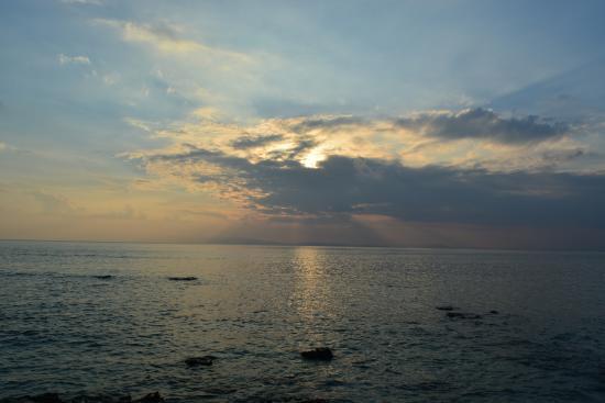 Havelock Island, India: sunset at Havelock