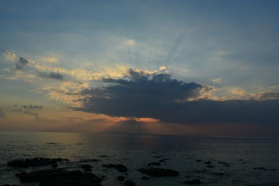 Havelock Island, India: sunset