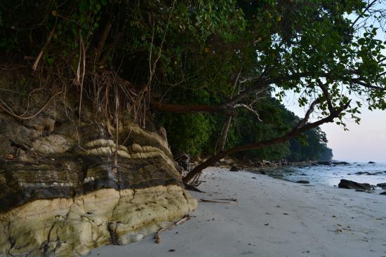 Havelock Island, India: stones