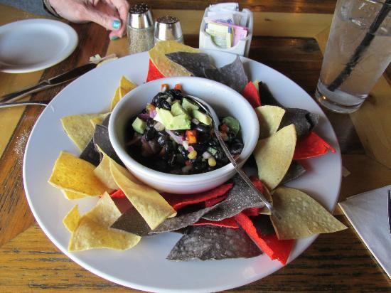 Up The Creek Bistro Wine Bar: Cowboy cavier appetizer