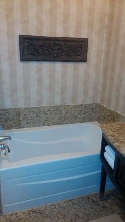 Oxford Suites Boise: tub