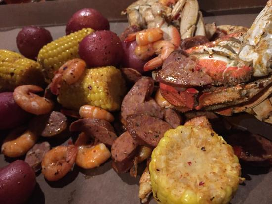 Steamworks Brewing Co : Cajun boil without the craw fish and if u need that just ask and they charge u for that!