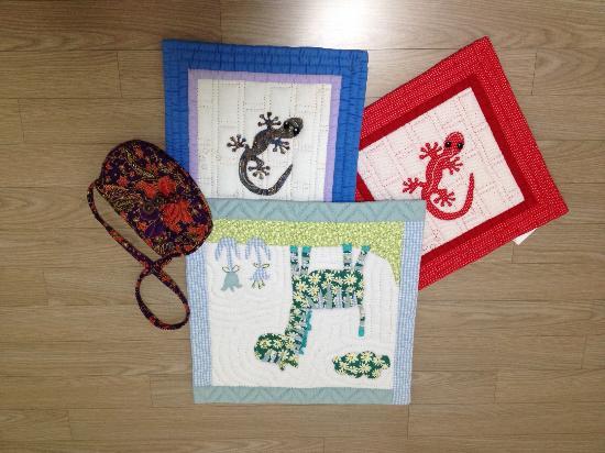 Mekong Quilts: 내가 사온 물건
