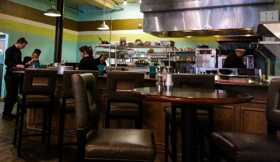 Nice open kitchen picture of le bistro huntington for 1 kitchen huntington wv