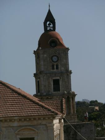Clock Tower - Picture of Roloi Clock Tower, Rhodes Town ...