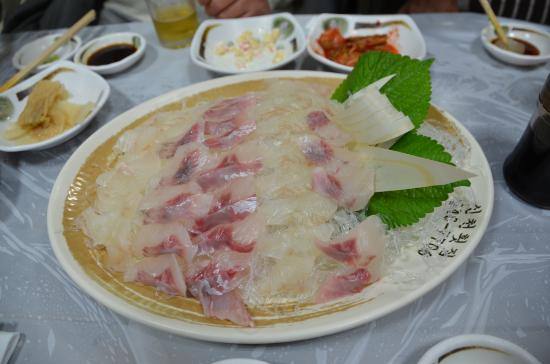 Shincheon: 刺身