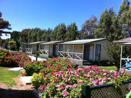 Middleton, Australia: outside of the cabins
